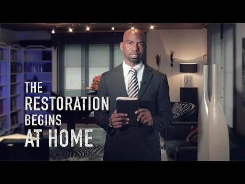 Restoration Begins At Home  |  Dwayne Lemon
