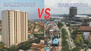 Kota Balikpapan VS Kota Samarinda, Kota Terbesar dan Ibukota Provinsi di Kalimantan Timur Kaltim