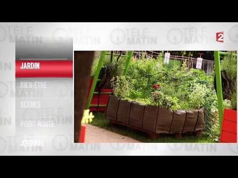 Jardin-Un bac poids plume