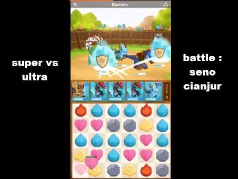 Battle camp fight scene 1 : Super Sevo vs Ultra