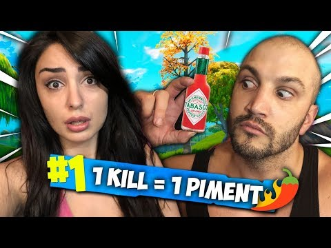 1 KILL = 1 PIMENT 🌶️ SUR FORTNITE AVEC PINKGEEK !
