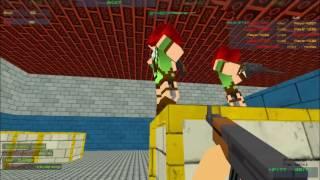 jugando con camilagamer YT en Fast Pixel Bullet slendygamer