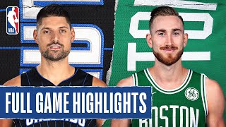 MAGIC at CELTICS | FULL GAME HIGHLIGHTS | August 9, 2020