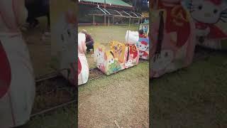 Download Daffa jalan jalan naik kereta di pasar malam with Savia