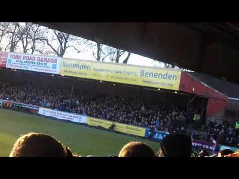York City 3-0 Burton Albion 01/01/2013