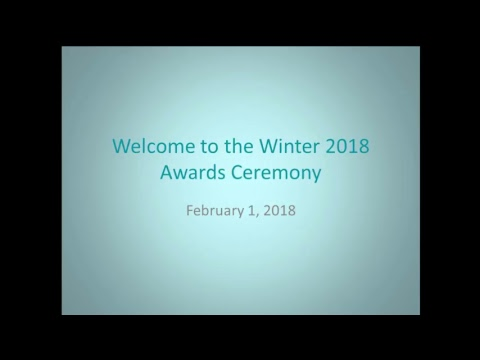 Brown College of Court Reporting- Winter 2018 Awards Ceremony