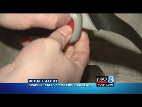 Recent Vehicle Seat Recalls