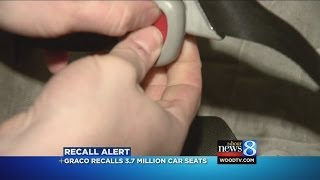 Graco Recalls Nearly 3.8m Child Car Seats