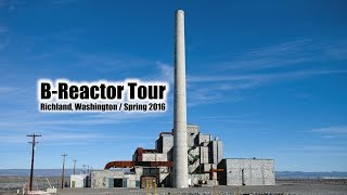 """Atomic Tours,"" featuring Carl and Taylor Wilson at B Reactor, Hanford"
