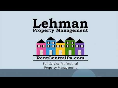 Why Work with Lehman Property Management in Harrisburg, PA