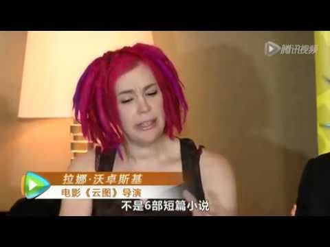 Cloud Atlas - Chinese TV Interview With Hugo Weaving, Lana And Andy Wachowski, Tom Tykwer (v.qq.com)