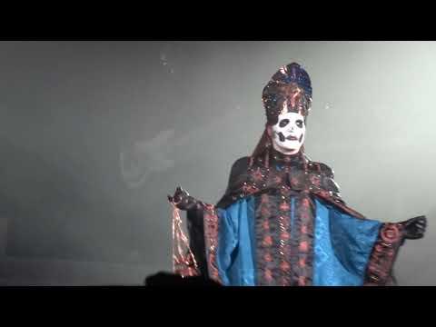 "Cardinal Copia ""Arrival"" Papa Emeritus IV Ghost Live Mexico 2020 ""Con Clavi Con Dio"""