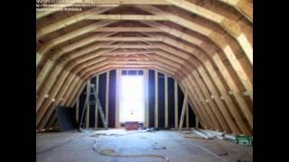 Building a Home Gambrel Roof