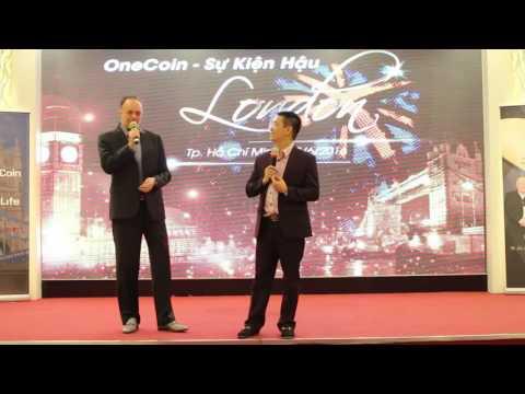 OneCoin hậu London Event Stefan với quyết tâm phát triển tại VN  HCMC 23062016