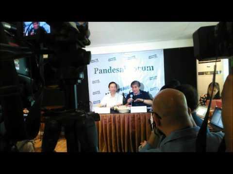 PANDESAL FORUM WITH VP CANDIDATE SEN. GREGORIO HONASAN, 01-19-16