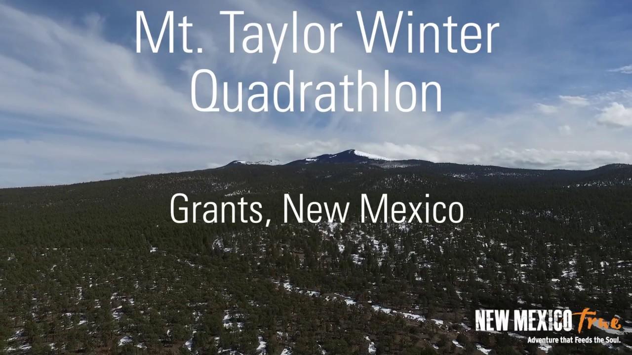 Mt Taylor Winter Quadrathlon