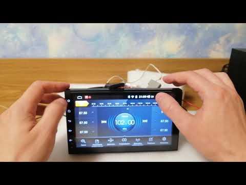 Автомагнитола с поддержкой Sim карт 4G