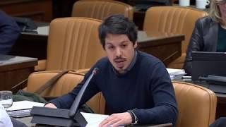 Segundo González en la Comisión de Energía, Turismo y Agenda Digital el 14 de Febrero