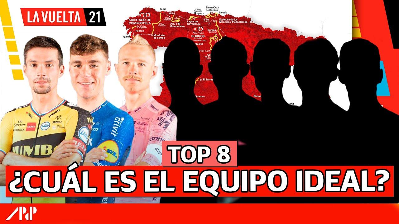 TOP 8 MEJORES CICLISTAS EN LA VUELTA A ESPAÑA 2021 🚀