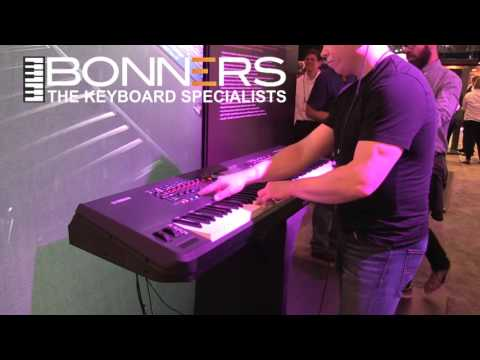 Yamaha Montage Keyboard Demo First Play Through Presets UK