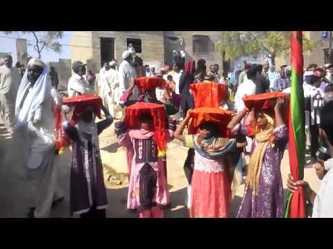 (Black People in Pakistan ) Mangho pir Sheedi Festival in Karachi