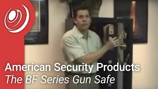 American Security Products - The Bf Series Gun Safe Video