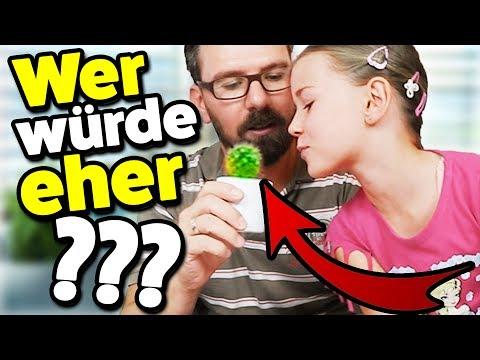 Lulu küsst einen Kaktus? WER WÜRDE EHER CHALLENGE #2! Lulu & Leon - Family and Fun