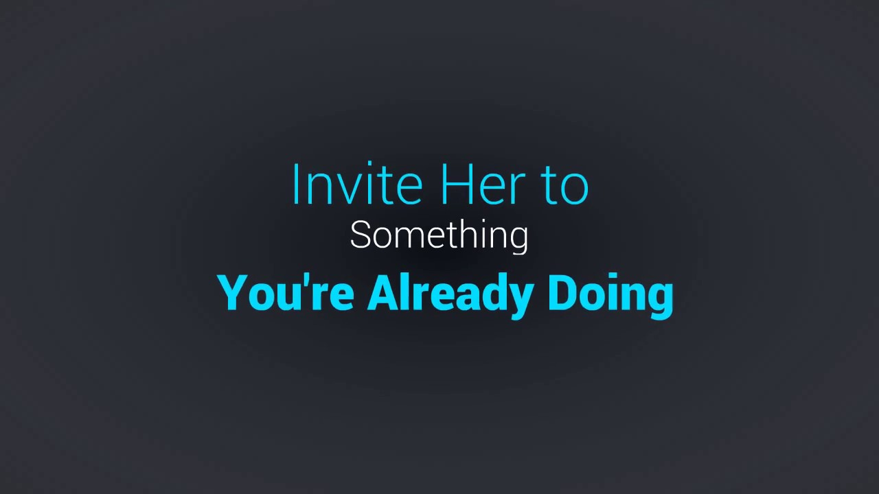 How to invite a girl out