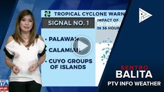 PTV INFO WEATHER: Bagyong #Basyang, dalawang beses nang nag-landfall