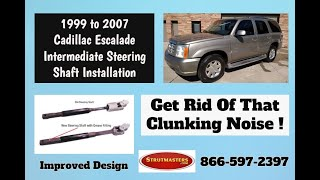 How to Replace The Intermediate Steering Shaft On A Cadillac Escalade