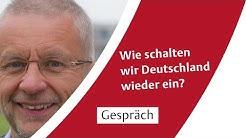 Wie schalten wir Deutschland wieder ein? Sozialpsychologe Rolf van Dick zur Corona-Krise