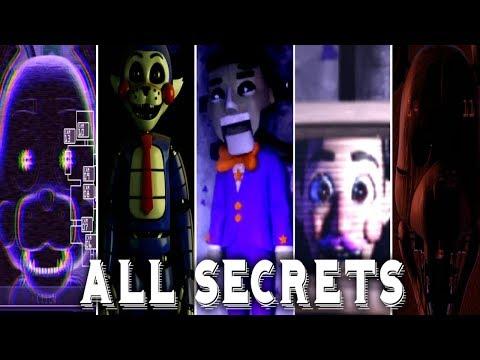ALL SECRETS & EASTER EGGS!!   FNAC Remastered