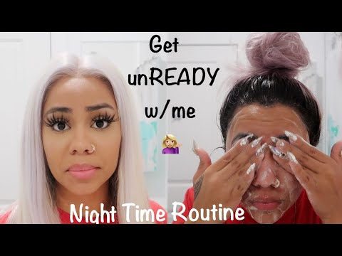 Get unREADY with me 🙈 Night Time Routine