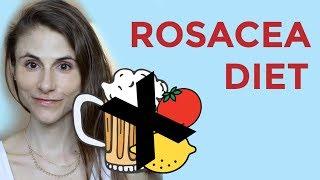 ROSACEA DIET: FOODS, SUPPLEMENTS, PROBIOTICS| DR DRAY
