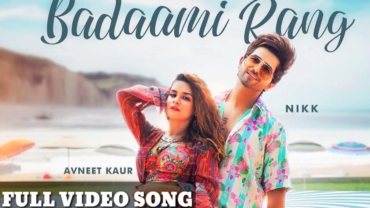 Download Badaami Rang| Avneet Kaur | Nikk | new song