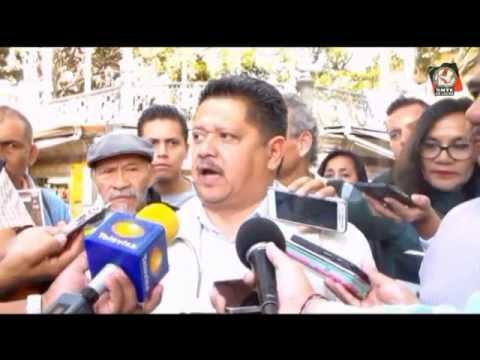 Conferencia de prensa en Cuernavaca Morelos