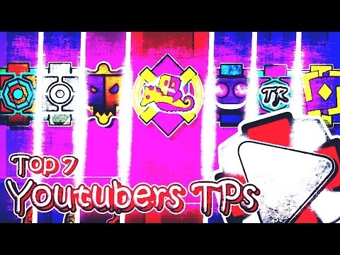 TOP 7 YOUTUBERS TEXTURE PACKS PARA GEOMETRY DASH 2.1 L ANDROID & STEAM L