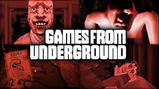 Games From Underground #3 | Alternative Horror