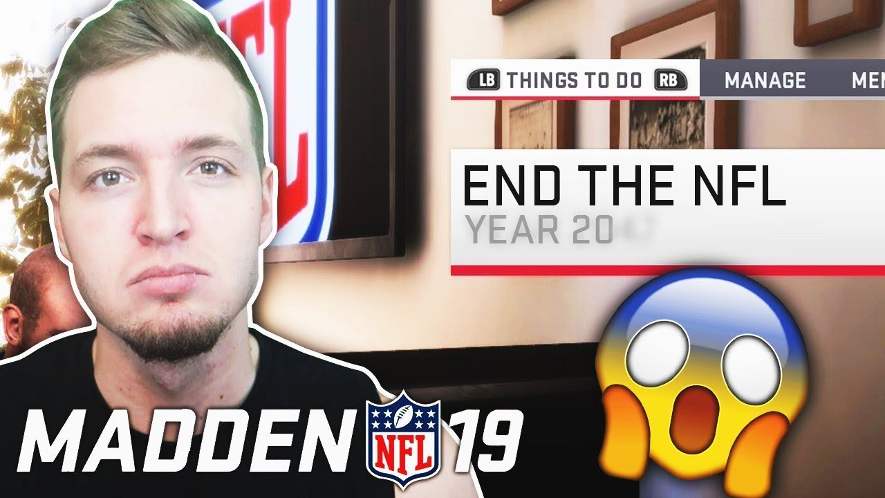 When Will The NFL End? - According To Madden 19