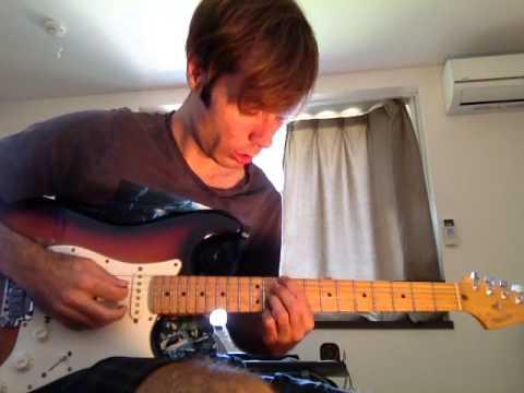 """Oceans"", Hillsong - Electric guitar tutorial"