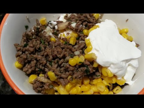 Beef Surprise For Dinner - Easy Ground Meat Recipe!