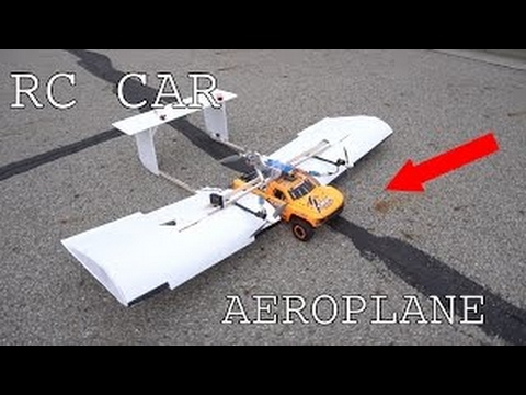 Flying an RC Car part1