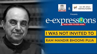 I was not invited to Ram Mandir Bhoomi Puja: Subramanian Swamy | Ayodhya Ram Mandir | Edexlive