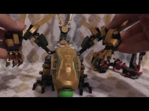 Обзор Bela Ninja ( Пародия на Лего Ниндзяго ) 9793 - Дракон Золотого ниндзи ( Золотой дракон )