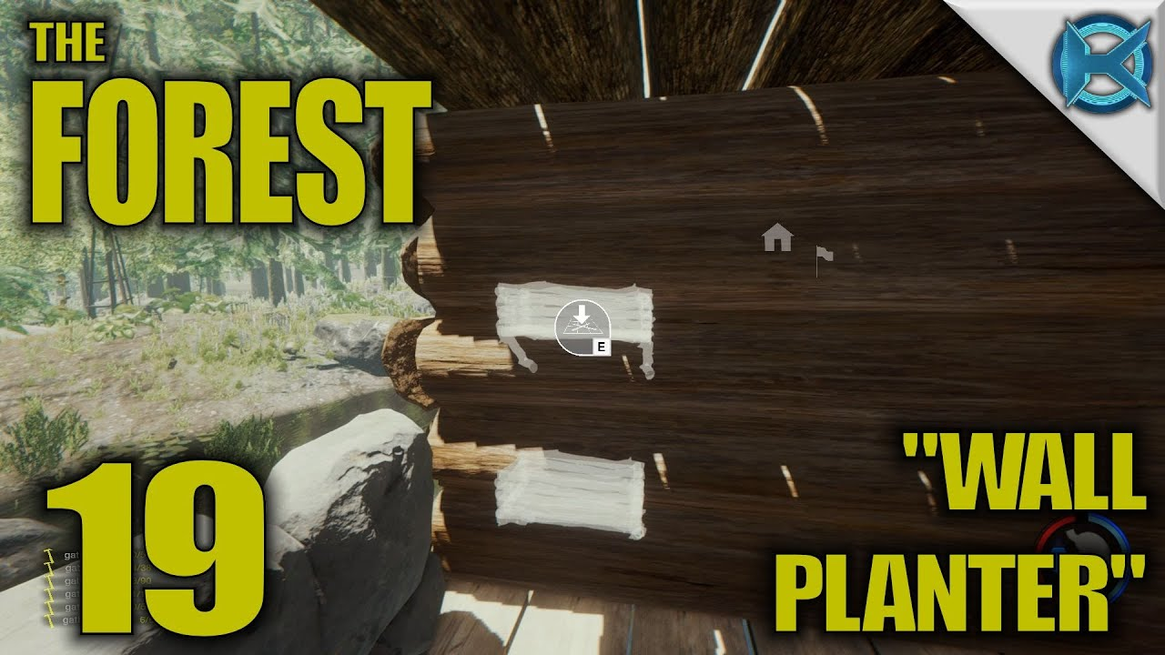 The Forest Ep 19 Wall Planter Play Let S Alpha 0 31 S10