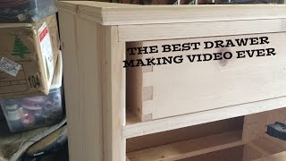 The Best Drawer Making Video Ever