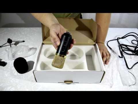 Jeftin USB mikrofon - unboxing, test i poredjenje [NOULAIFR MAJSTOR]