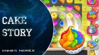 Cace Story Обзор Бесплатной игры три в ряд на Android