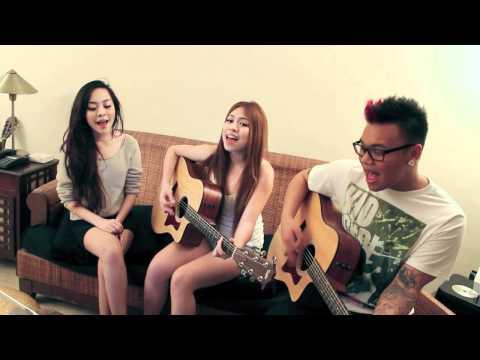 Taylor Swift - Sparks Fly (AJ Rafael, Krissy & Ericka) | AJ Rafael