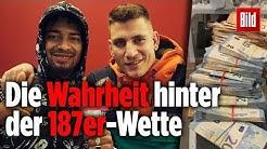 """Wette von """"187""""-Rappern war Fake: Doch nicht 50 000 Euro auf Bayern gesetzt"""